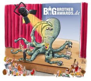 Datenkrake Big Brother Award