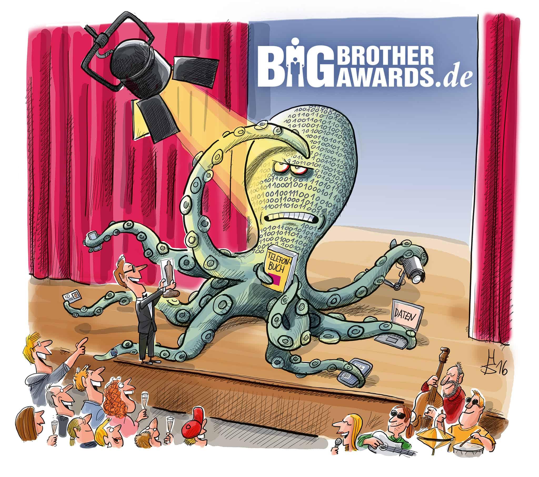 Jens Spahn mit den besten Aussichten auf den Big Brother Award 2020