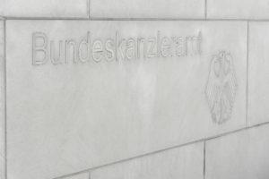 Schriftzug Bundeskanzleramt